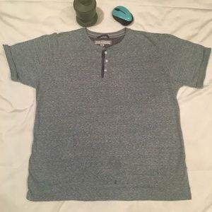 PD&C Men Green Aqua T-Shirt